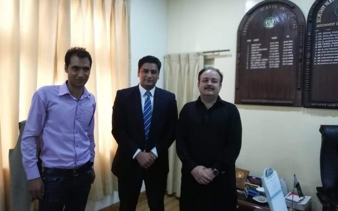 Meeting with Health Secretary, Gilgit-Baltistan
