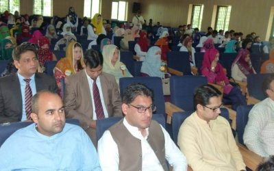 Qarshi Foundation sponsored a two days international seminar at university of Poonch Rawalakot, AJK 2018