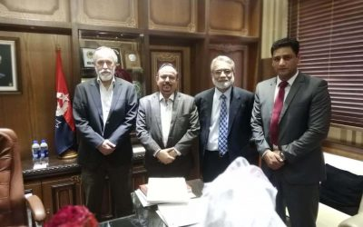 Qarshi Foundation Team had Meeting with Inspector General of Prisons of Sindh : March 2019