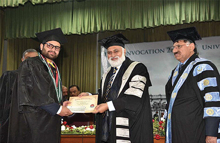 129th Convocation, PU was held on 28th December, 2019