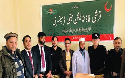 Establishment of Qarshi Eastern Medicine Clinic (QEMC), Central Prison Mardan on 16 Dec, 2019