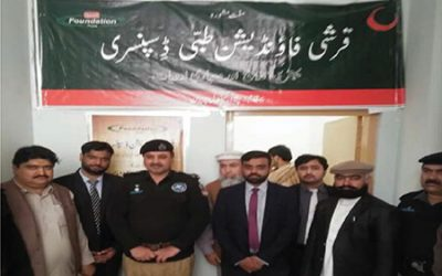 Establishment of Qarshi Eastern Medicine Clinic (QEMC), Central Prison Peshawar on 11 Mar, 2020