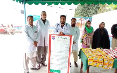 Awareness campaign in Punjab prison for COVID-19
